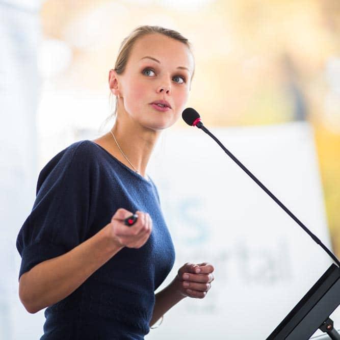 Powerstart_female tech speaker